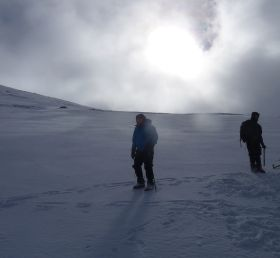 Winter Skills training on the Cairngorm Plateau