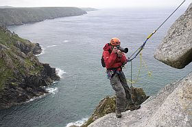 Rope Access is required to reach many superb view points.